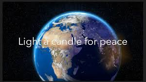 light a candle for peace lyrics light a candle for peace youtube