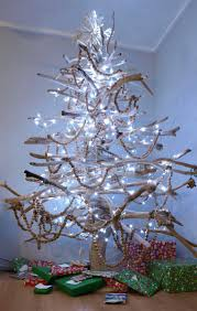 tree made of twigs decorations handmade tree made from