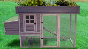 Precision Old Red Barn Chicken Coop Garden Top Chicken Or Rabbit House By Precision Pet Gallery