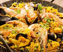 cuisiner une paella paella rapide recette de paella rapide marmiton