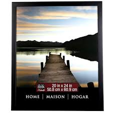 Decore Home by Black Home Collection Flat Frame By Studio Décor