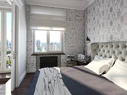 brick wallpaper bedroom ideas home design ideas