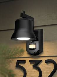 Motion Activated Cordless Light Outdoor Porch Light Motion Sensor Cordless Outdoor 4 Hton Bay 360