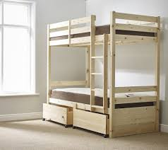 Solid Pine Bunk Beds Best Ft Single Storage Heavy Duty Solid Pine Bunk Bed Image For