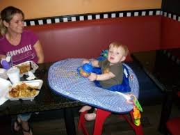 Saucer Chair Cover Portable High Chair Cover