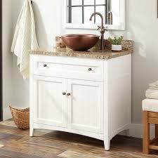 36 vessel sink vanity 36 halifax vessel sink vanity white bathroom