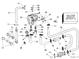 fuel pump conversion kit 90 115 models fuel systems 1998