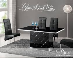 relax drink wine kitchen wall decal wall art dining room relax drink wine kitchen wall decal wall art dining room kitchen vinyl sticker decor buffet dining table bar restaurant cork uncork