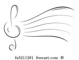 free art print of ornamental music notes ornamental music notes