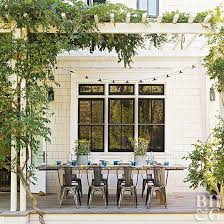 How To Hang Patio Lights How To Hang String Lights On Your Patio