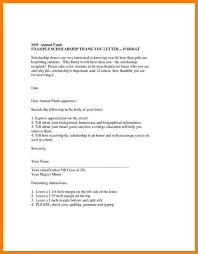 16 thank you letter for scholarship sample g unitrecors