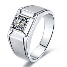 men rings style images 1ct scrub style men ring simulate diamond jewelry male engagement jpg