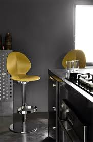 calligaris basil bar stool available in a range of colours
