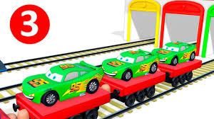 learn colors u0026 numbers for children with lightning mcqueen disney