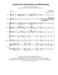 Castle On A Cloud Flute Music Search Sheet Music 4 Kids