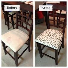 recovering dining room chairs of exemplary fabric for recovering