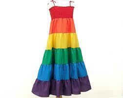 rainbow doll dress for my twinn doll rainbow dress made to