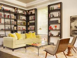 bookshelves with ladder houzz