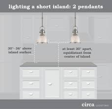 spacing pendant lights kitchen island how to hang pendant lights an island e interiors with