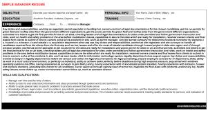 Cabin Crew Resume Example by Bim Manager Resumes U0026 Cover Letters