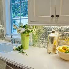 The  Best Tin Tile Backsplash Ideas On Pinterest Ceiling - White tin backsplash