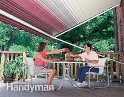 Diy Awnings For Decks How To Shade Your Deck Or Patio Family Handyman
