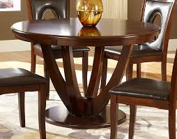homelegance vanbure round dining table cherry 2568 48