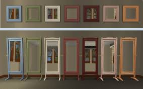 mod the sims recolors of 2 base game mirrors matching base game