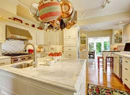 White Carrera Marble Kitchen Countertops - kitchen design gallery great lakes granite u0026 marble