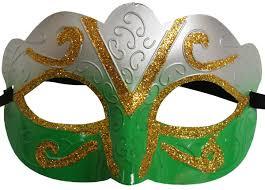 green mardi gras mask mardi gras masks