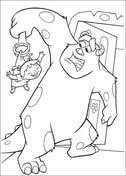 monster coloring pages free coloring pages