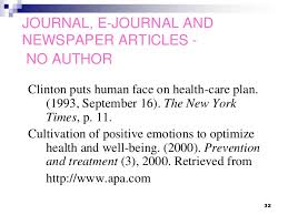 apa format online article no author apa format for online articles without author