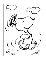 25 snoopy coloring pages ideas charlie brown