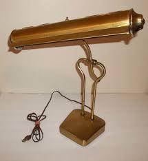 mid century modern table lamp brass table lamp mid century modern desk or piano lamp bankers