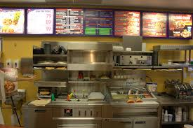 Fast Food Kitchen Design Taco Bell Kitchen Interior Design
