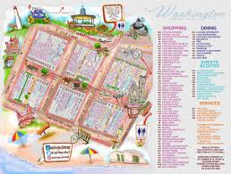 Map Of Wildwood Nj Map Washington Street Mall In The Heart Of Cape May