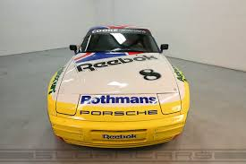 rothmans porsche logo 1987 porsche 944 turbo rothmans cup car sloan cars