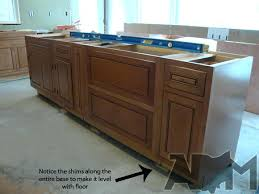 how to install kitchen island how to install a kitchen island decoration hsubili com how to