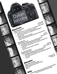Photography Resume Examples 19 Best Resumes Images On Pinterest Photographer Resume Resume