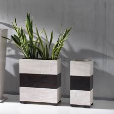 vasi da interno vasi in legno da interno onigiri vaso arredas