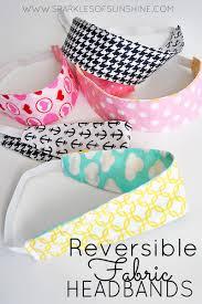 fabric headbands reversible fabric headbands easy sew tutorial sparkles of
