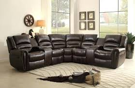 modern sectional recliner leather sofa reclining sofas with chaise