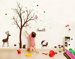 Tree Wall Decor For Nursery Tree Wall Decal Tree Wall Decor Nursery Mural Stickers Owl