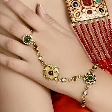 bracelet design with ring images Stunning design ideas bracelet with ring bracelets chain attached jpg