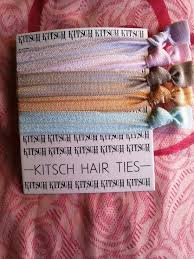 kitsch hair ties hair ties by kitsch i want it all indian fashion beauty and