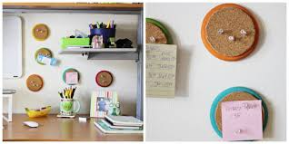 Organize Your Home Office by Colorful Circle Cork Boards To Organize Your Home Office Or Dorm