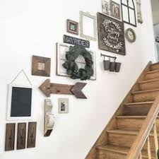 Staircase Decorating Ideas Wall Staircase Decor Idea Something Like This Framing Pinterest