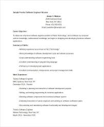 Resume Sample Engineer by Fresher Engineer Resume Templates 6 Free Word Pdf Format