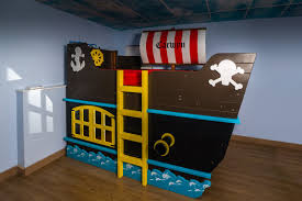race car bed blue pirate ship bedroom full size boat little tikes