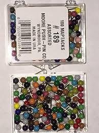 map tacks 1 8 inch map tacks assorted colors tacks and